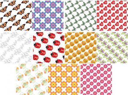 tile background 02 vectors graphic