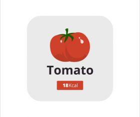 Zucchini vector icon