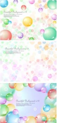 transparent sphere background vectors