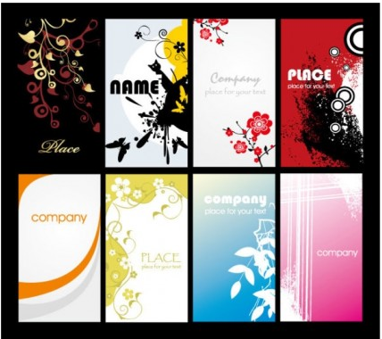 trend card background vector