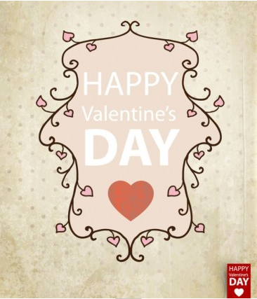 valentine card background 01 vector