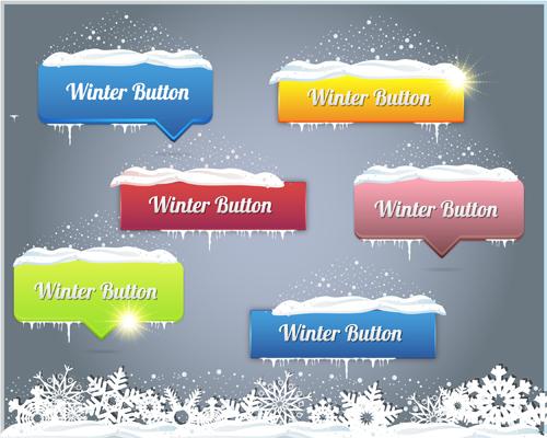 web button 8 creative vector set