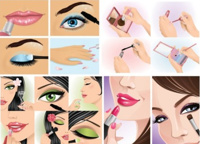 women make an instant local vector graphics