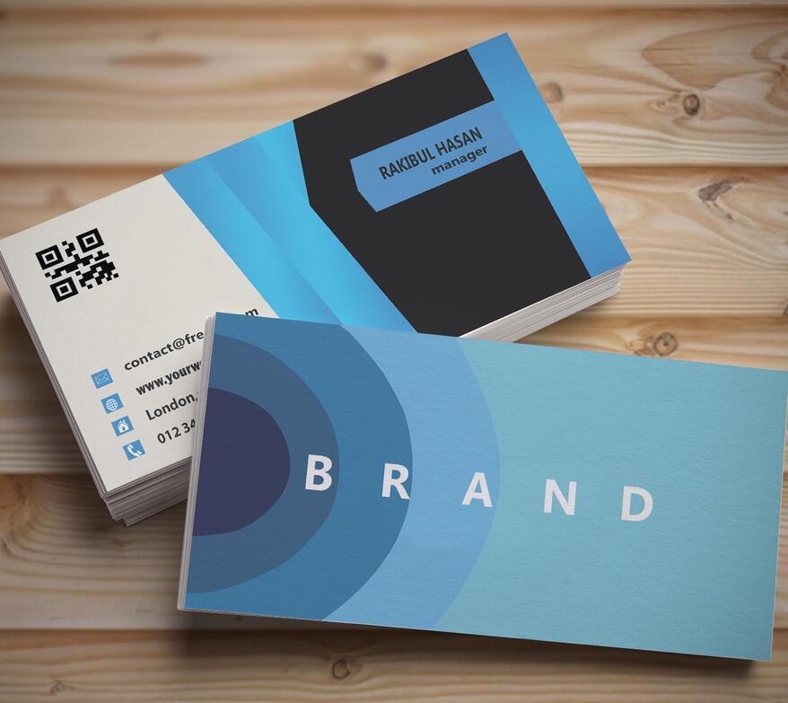 business card design photo