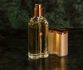 Beautifully designed perfume bottle Stock Photo 01