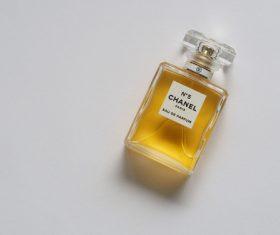 Beautifully designed perfume bottle Stock Photo 05