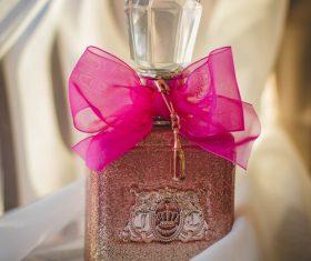 Beautifully designed perfume bottle Stock Photo 09