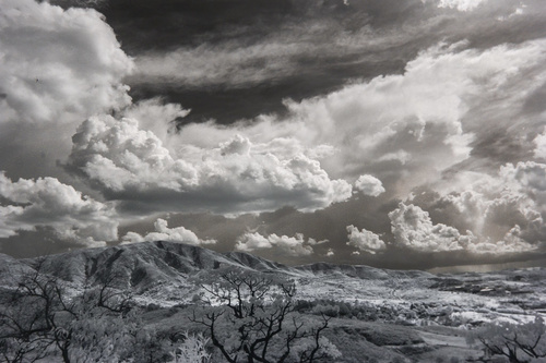 Black and white landscape photography Stock Photo 05