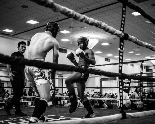 Boxing competition Stock Photo 04