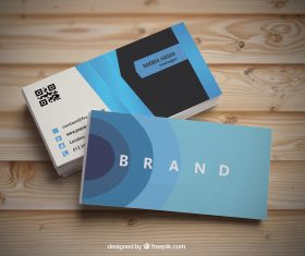 business card design photo