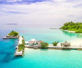 Charming resort island Stock Photo 01