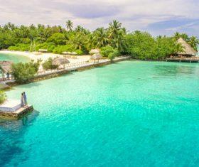 Charming resort island Stock Photo 02