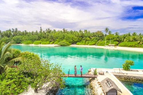 Charming resort island Stock Photo 05