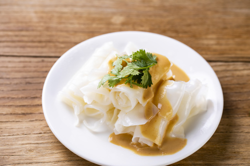 China cuisine steamed cold noodles Stock Photo 02