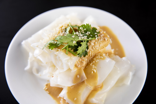 China cuisine steamed cold noodles Stock Photo 03