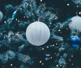 Christmas tree decoration Stock Photo 02