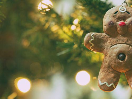 Christmas tree decoration Stock Photo 03