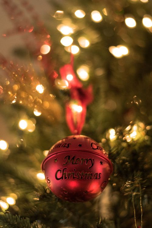 Christmas tree decoration Stock Photo 04