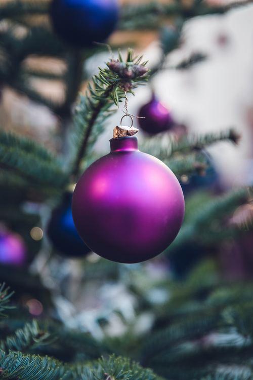 Christmas tree decoration Stock Photo 05