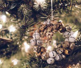 Christmas tree decoration Stock Photo 06