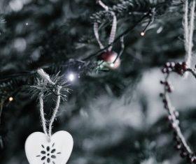 Christmas tree decoration Stock Photo 09