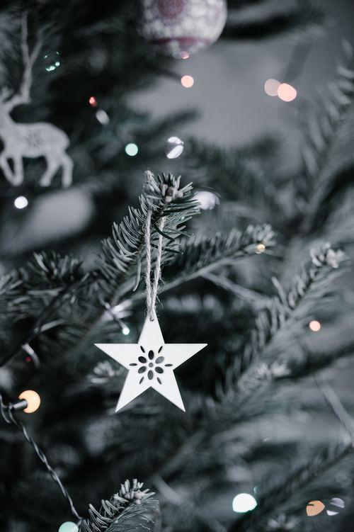 Christmas tree decoration Stock Photo 10