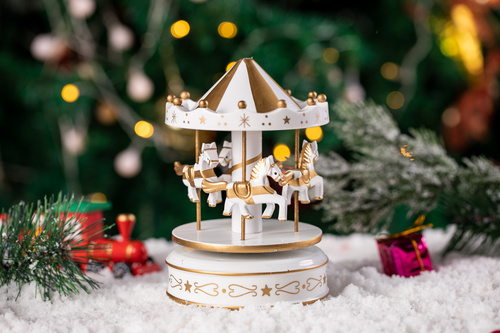Christmas trinkets Stock Photo 01