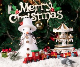 Christmas trinkets Stock Photo 02