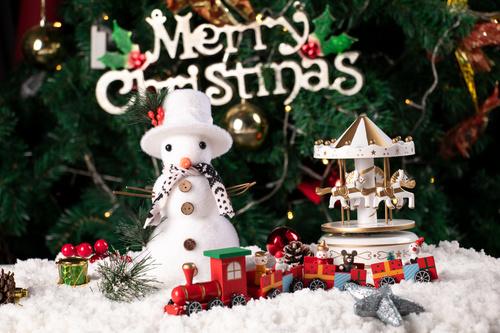 Christmas trinkets Stock Photo 02