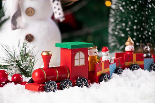 Christmas trinkets Stock Photo 03