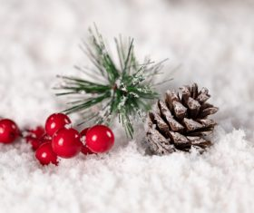 Christmas trinkets Stock Photo 04