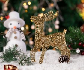 Christmas trinkets Stock Photo 05