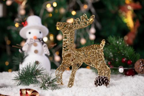 Christmas trinkets Stock Photo 05