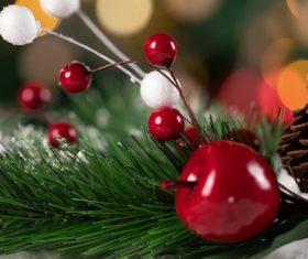 Christmas trinkets Stock Photo 06