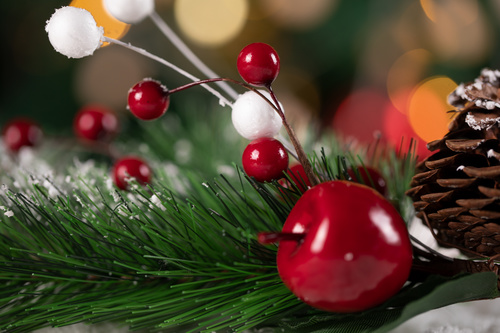 Christmas trinkets Stock Photo 06