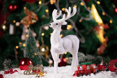 Christmas trinkets Stock Photo 07