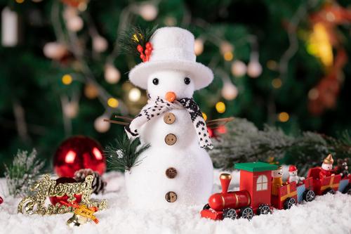 Christmas trinkets Stock Photo 08