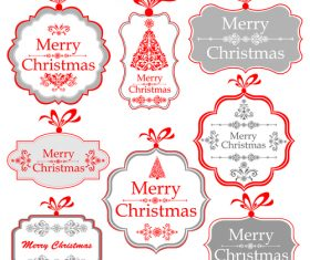Collection of Christmas design elements vectors