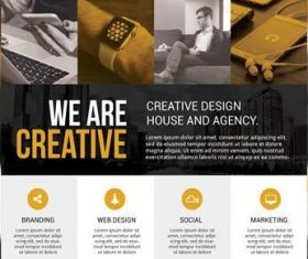 Corporate Business Flyer and Poster PSD Material