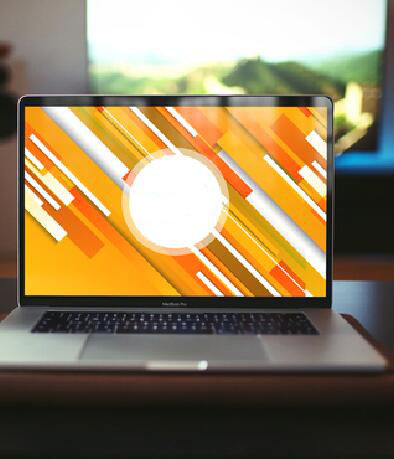 Creative MacBook Pro Mockup PSD Template
