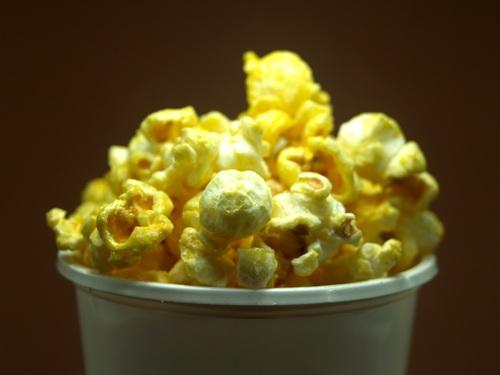 Crispy popcorn Stock Photo 01