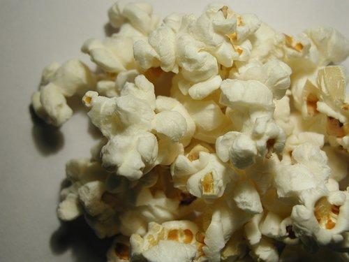 Crispy popcorn Stock Photo 02