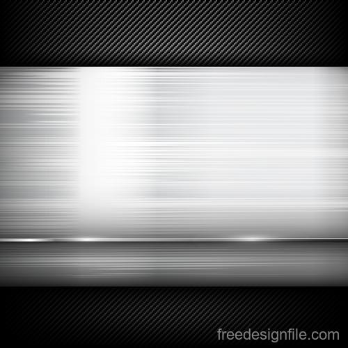 Dark with carbon fiber texture vector background 03