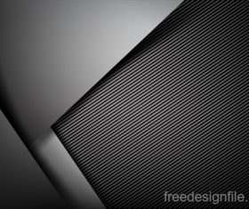 Dark with carbon fiber texture vector background 04