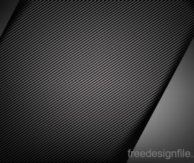 Dark with carbon fiber texture vector background 05