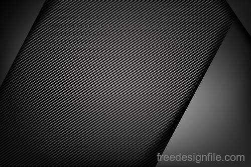 Dark with carbon fiber texture vector background 05