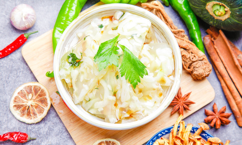 Delicious Cold Dishes Stock Photo 07