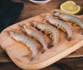 Delicious fresh base shrimp Stock Photo 04