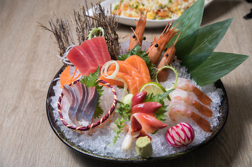 Delicious seafood platter Stock Photo 01