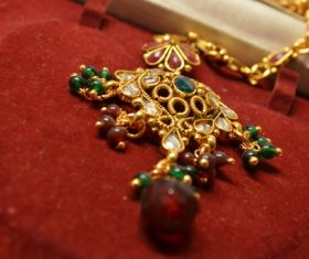 Exotic jewelry pendant Stock Photo 01